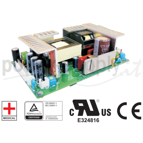 MP-250-12 Cotek Electronic MP-250-12 - Alimentatore Cotek - Open F. 250W 12V - Input 100-240 VAC Alimentatori Automazione
