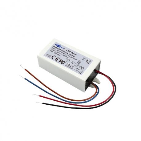 CVP012N-24V-P02 Glacial Power CVP012N-24V-P02 Alimentatore LED Glacial Power - CV - 12W / 24V Alimentatori LED