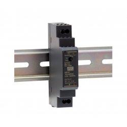 HDR-15-24 MeanWell HDR-15-24 - Alimentatore Meanwell - Din Rail 15W 24V - Input 100-240 VAC Alimentatori Guida DIN