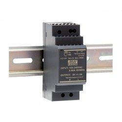 HDR-30-24 MeanWell HDR-30-24 - Alimentatore Meanwell - Din Rail 30W 24V - Input 100-240 VAC Alimentatori Guida DIN