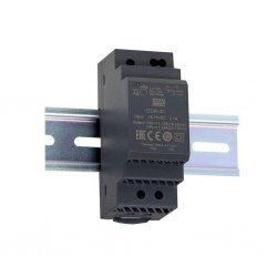 DDR-30G-12 - Convertitore DC/DC MeanWell - CV - 30W / 12V - Ingresso 12VDC/24VDC
