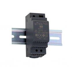 DDR-30L-12 - Convertitore DC/DC MeanWell - CV - 30W / 12V - Ingresso 24VDC/48VDC
