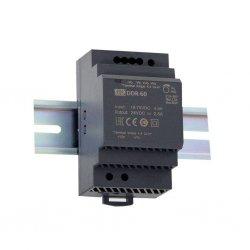 DDR-60G-5 - Convertitore DC/DC MeanWell - CV - 60W / 5V - Ingresso 12VDC/24VDC
