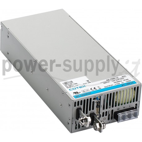 AE-1500-12 Cotek Electronic AE-1500-12 - Alimentatore Cotek - Boxed 1500W 12V - Input 100-240 VAC Alimentatori Automazione