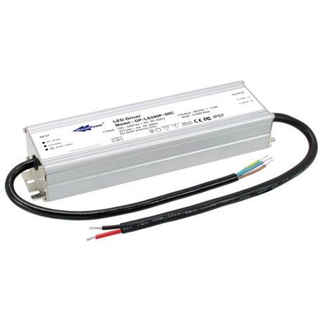 LS240P-48C Glacial Power LS240P-48C Alimentatore LED Glacial Power - CV/CC - 240W / 48V / 5000mA Alimentatori LED