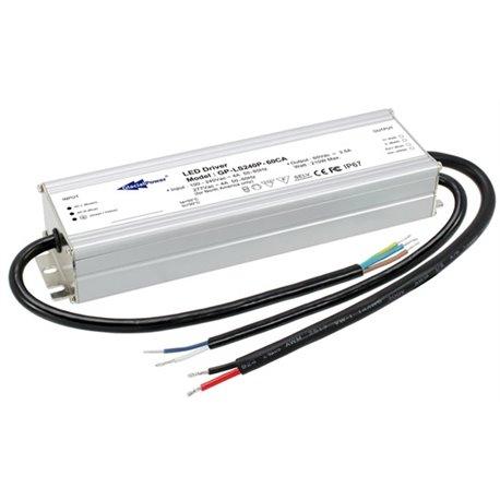 LS240P-48CA Glacial Power LS240P-48CA Alimentatore LED Glacial Power - CV/CC - 240W / 48V / 5000mA - Dimmerabile Alimentat...