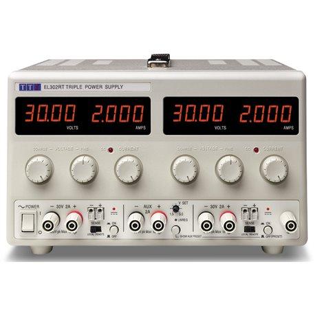 EL302RT - Alimentatore da Laboratorio Tripla Uscita 130W / 30V / 2A - Input 100-240 VAC