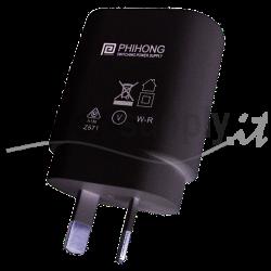 PSM03S-050Q-3 Phihong PSM03S-050Q-3 - Alimentatore Phihong - Wallmount 3W 5V - Input 100-240 VAC Alimentatori Wallmount