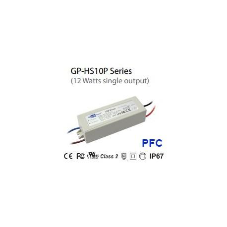 HS10P-24C Glacial Power HS10P-24C - Alimentatore LED Glacial Power - CC - 12W / 500mA Alimentatori LED