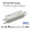 HS10P-36C - Alimentatore LED Glacial Power - CC - 12W / 350mA