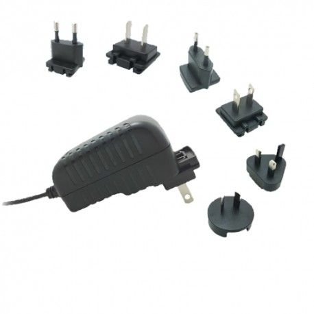 TPS-2401000ZZ Top Power TPS-2401000ZZ - Alimentatore Top Power - Wallmount 24W 24V - Input 100-240 VAC Alimentatori Wallmount