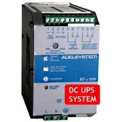 CBI245A Adelsystem CBI245A- DC UPS System Evoluto Adelsystem - 120W / 24V / 5A Caricabatterie