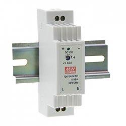 DR-15-5 MeanWell DR-15-5 - Alimentatore Meanwell - Din Rail 15W 5V - Input 100-240 VAC Alimentatori Automazione