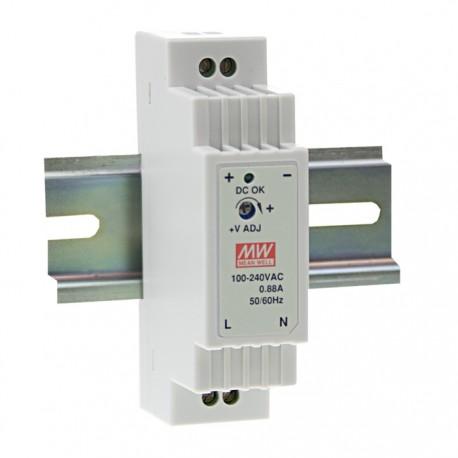 DR-15-15 MeanWell DR-15-15 - Alimentatore Meanwell - Din Rail 15W 15V - Input 100-240 VAC Alimentatori Automazione
