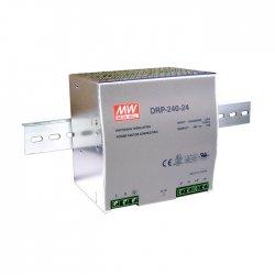 DRP-240-48 MeanWell DRP-240-48 - Alimentatore Meanwell - Din Rail 240W 48V - Input 100-240 VAC Alimentatori Automazione