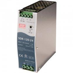 SDR-120-48 MeanWell SDR-120-48 - Alimentatore Meanwell - Din Rail 120W 48V - Input 100-240 VAC Alimentatori Automazione