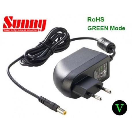 SYS1308-1808-W2E/5521 Sunny SYS1308-1808-W2E/5521 - Alimentatore Sunny - Wallmount 18W 8V - Input 100-240 VAC Alimentatori...