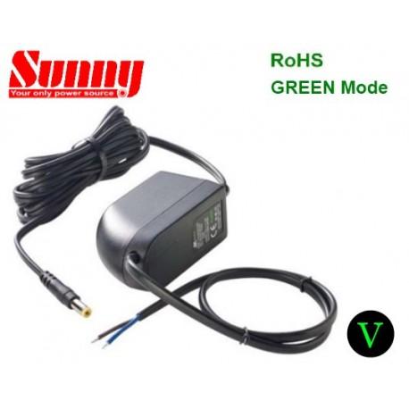 SYS1308-2412-special Sunny SYS1308-2412-special - Alimentatore Sunny - Wallmount 24W 12V - Input 100-240 VAC Alimentatori ...