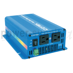 S300-124 Cotek Electronic S300-124 - Inverter Cotek 300W - In 24V Out 110 VAC Onda Sinusoidale Pura Inverters