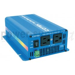 S300-224 Cotek Electronic S300-224 - Inverter Cotek 300W - In 24V Out 220 VAC Onda Sinusoidale Pura Inverters