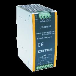 DV-RDM20 Cotek Electronic DV-RDM20 | Alimentatore Din Rail 20A Alimentatori Automazione