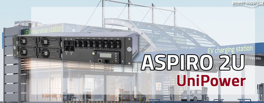 ASPIRO 2U Stazione di Energia (DC Power System) Compatta a 48V fino 90A