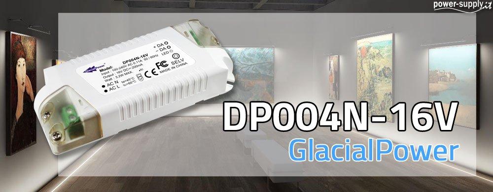 Nuovo Alimentatore DALI da 200mA - GP-DP004N-16V